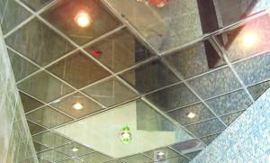 Зеркальные плиты из полистирола
