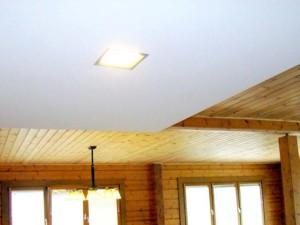Потолок натяжной, белый