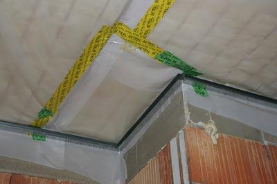 Как сделать потолок изоляция