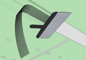 Укладка на слой шпаклевки ленты
