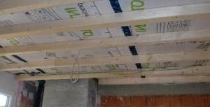 Каркас из деревянных реек
