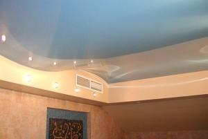 Декор углов на потолке
