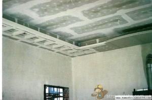 Окончательная доработка потолка