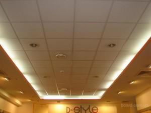 Точечное освещение из встраиваемых светильников
