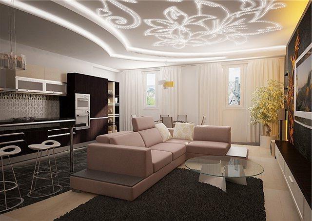 Дизайн оригинальных потолков