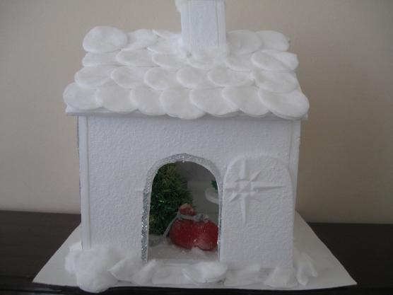Поделка «Снежный домик»