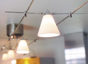 Потолочное освещение кухни