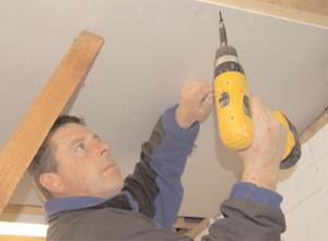 Ремонт потолка из гипсокартона