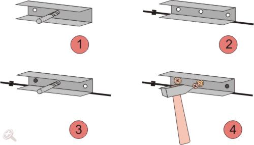 Пошаговая схема установки