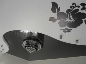 Оригинальная идея на потолке