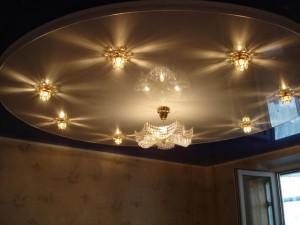Освещение в гостинной
