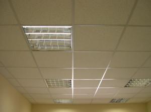 Устройство потолока Армстронг