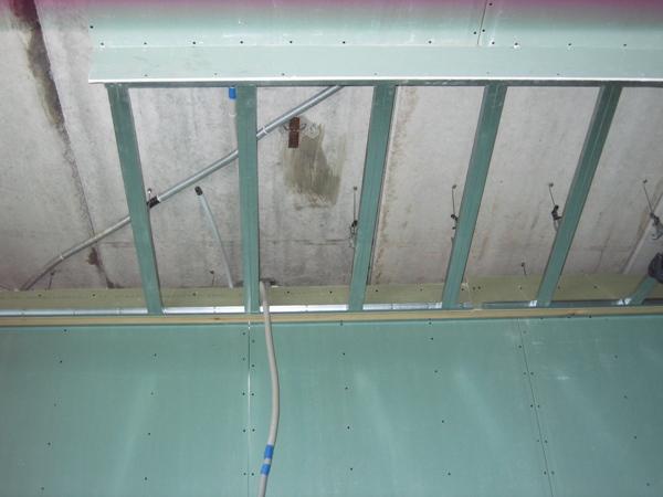 Как сделать каркас потолка из профиля видео 734