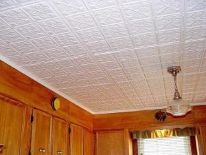 Как сделать потолки из пенопласта