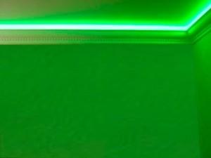 Потолочный плинтус с подсветкой - красиво, эффектно и просто