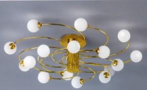Потолочные люстры для зала