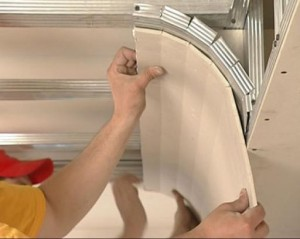 Монтаж гипсокартонных листов