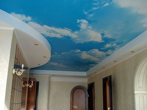 Потолок с изображением