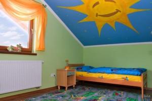 Оформление детской в доме