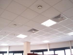 Системы отделки потолка