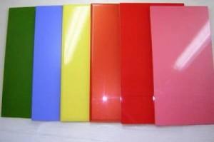 Крашеные панели