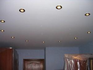Галогенные лампы расположенные по кругу
