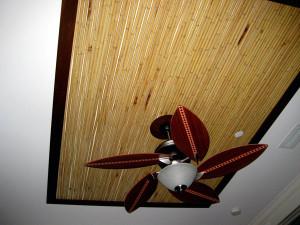 Бамбуковое полотно для потолка