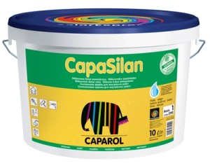 CapaSilan краска на основе силиконовой смолы VIP, белая (10л)
