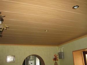МДФ потолок на кухне