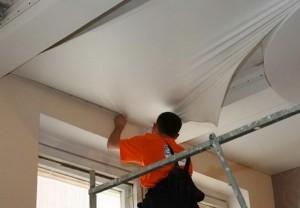 Можно ли сделать натяжной потолок своими руками?