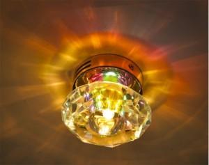 Накладные потолочные светодиодные светильники — виды, варианты подключения, особенности монтажа