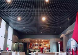 Подвесные потолки грильято — конструкция и дизайнерские возможности
