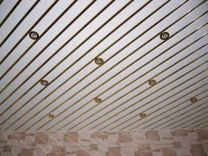 Реечные потолки отечественных производителей — достоинства, разновидности, особенности монтажа
