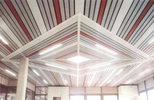 Реечный потолок албес - современный стиль для вашей кухни