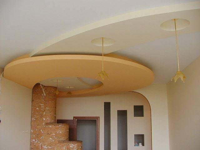 виды подвесного потолка из гипсокартона фото