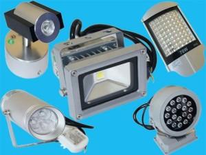 Разновидности осветительных приборов