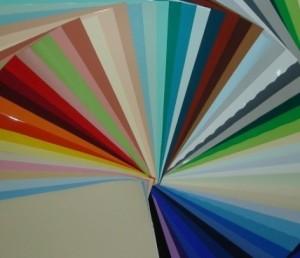 Возможная цветовая гамма натяжных потолков