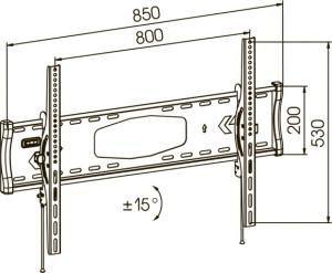 Физические параметры кронштейна