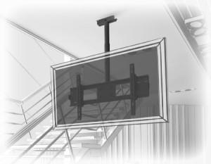 Монтаж  кронштейна на бетон