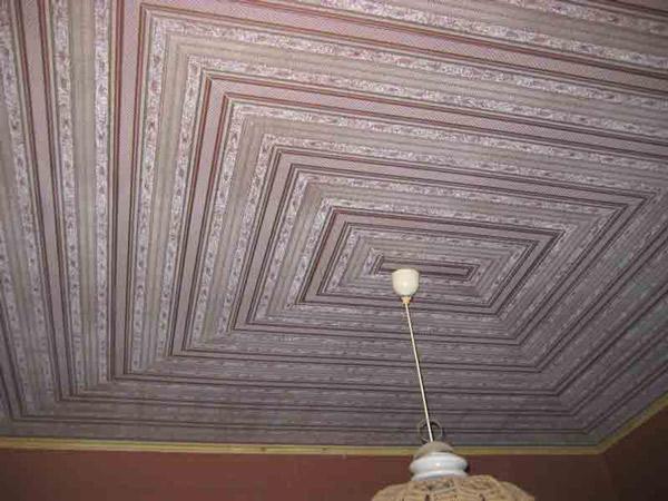 Из чего можно сделать потолок своими руками