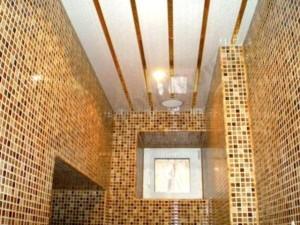 Французский реечный потолок и его использование