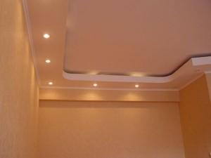Гипсокартонный потолок — достоинства и особенности монтажа