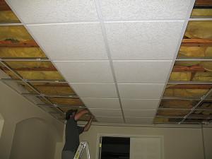 Потолок амстронг
