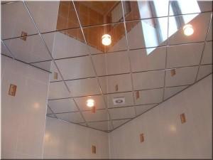 Зеркальные потолки в домашнем интерьере