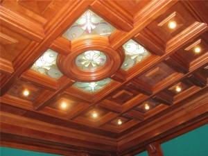 Кессонный потолок своими руками — два способа реализации идеи