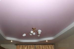 Потолки в комнате