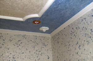 Жидкие потолки — преимущественные характеристики и особенности нанесения