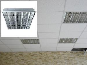 Светильники в потолок Армстронг — разновидности, отличия, достоинства и недостатки