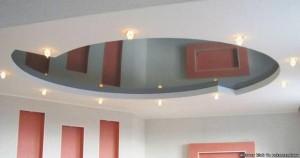 Как визуально увеличить высоту потолка, используя дизайнерские приемы