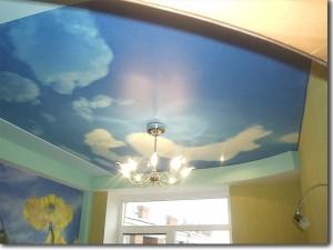 Идеальный вариант — натяжные потолки Черутти